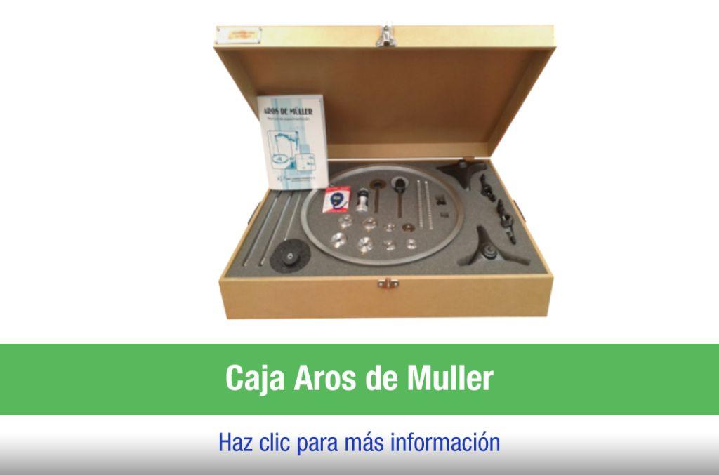Caja laboratorio Aros de Miller
