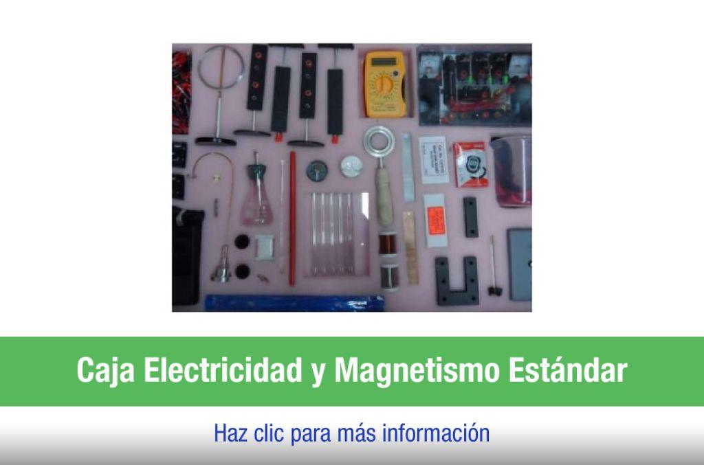 Caja electricidad y magnetismo estándar