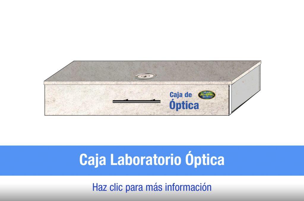 Caja laboratorio de óptica