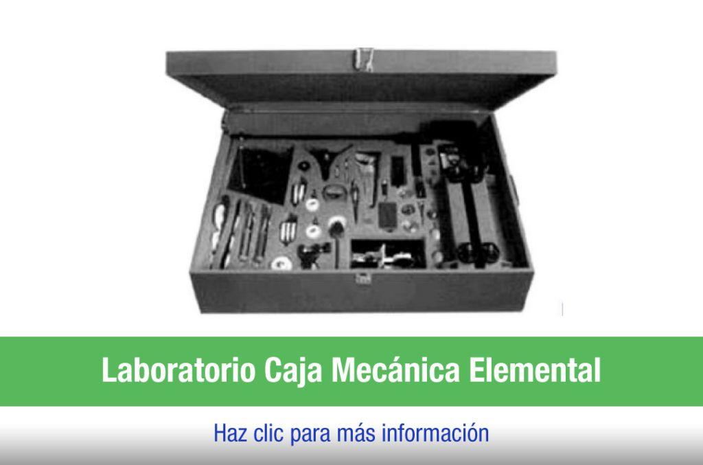 Laboratorio Caja de Mecánica básica
