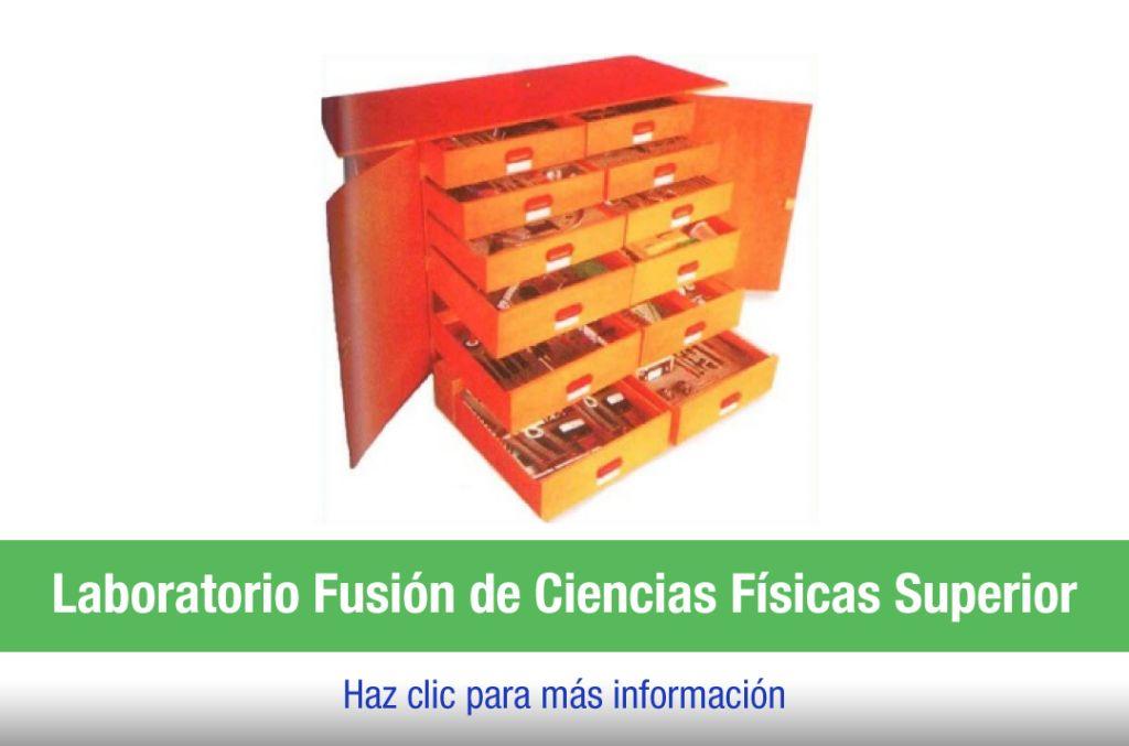 Armario de laboratorio Física Superior