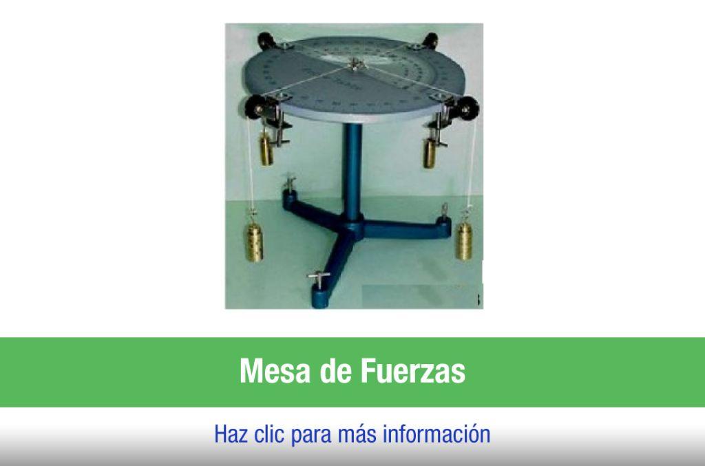 Caja de Laboratorio mesa de fuerzas